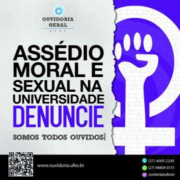 Assédio moral e sexual na Universidade. Denuncie!